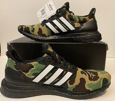 Adidas Ultra Boost 4.0 Bape Camo Men Size 10.5, DS