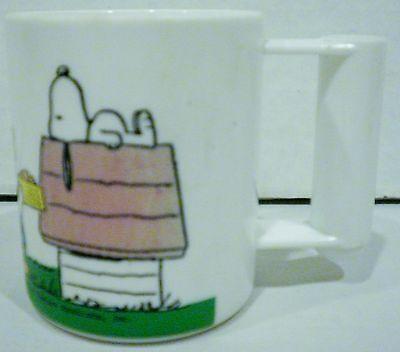 Peco Ware Peanuts Snoopy Sally Woodstock Charlie Brown Plastic Cup