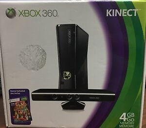 BRAND NEW IN THE BOX! Xbox 360 Kinect bundle!