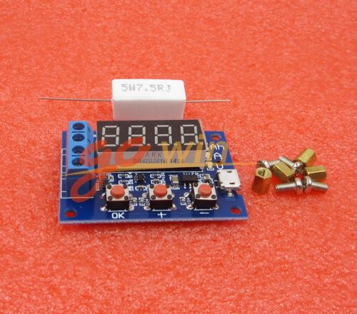 1.2-12v Battery Capacity Meter Discharge Tester 18650 li-ion lithium Lead-acid