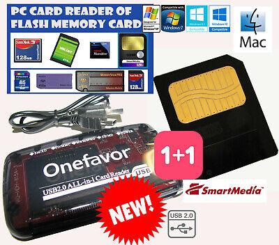 8M MEG Smartmedia Card+SM Memory Reader-TUTTI KORG-Triton Pandora Electribe.., usado comprar usado  Enviando para Brazil