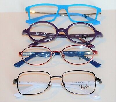 4 Pair NEW Ray Ban Jr. Eyeglass frames RB 1036, 1545, 1541, 1028