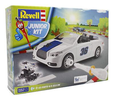 Revell 00901 Junior Kit - Roadster Bausatz Cabrio Auto Weiß NEU & OVP