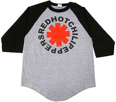 RED HOT CHILI PEPPERS T-shirt Raglan Baseball Tee Adult M,L,XL 3/4Sleeve New