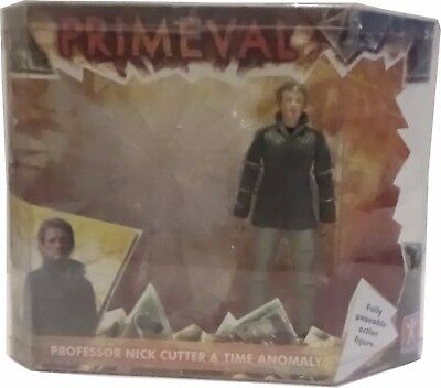 Primeval Professor Nick Cutter & Time Anomaly Fully Poseable Action Figure Toy