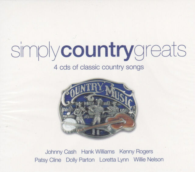 [NEW] 4CD: SIMPLY COUNTRY GREATS