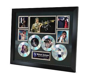 Michael Jackson - Signed Memorabilia - Limited Edition Certificate - Framed