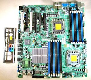 SuperMicro X8DT3-LN4F Server Motherboard & I/O IPMI Extended ATX Dual LGA1366