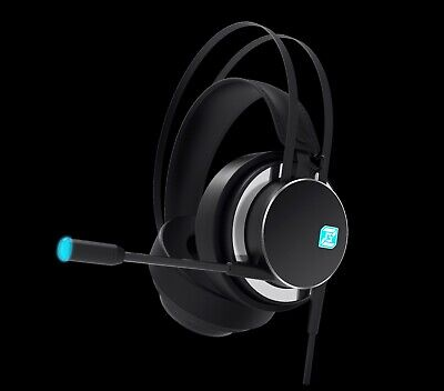 7.1 Virtual Surround Sound Blue Lights Gaming Headset ZIDLI ZH17 for PS4/PC