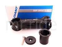 """GIANT Contact OD2 110//120mm // 8 Degree Black Stem 1-1//4/"""" and 1-1//8/"""" spacer"""