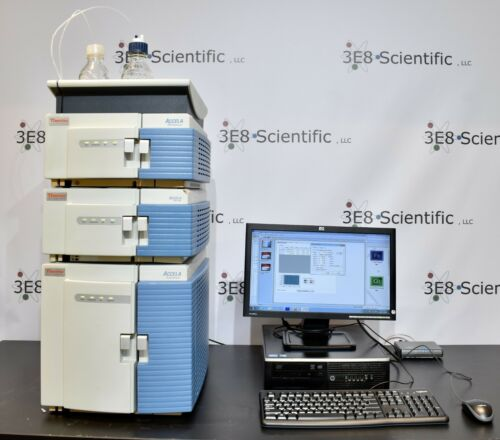 Thermo Accela HPLC   PDA 80hz + Pump 600 + Autosampler   PC & Software