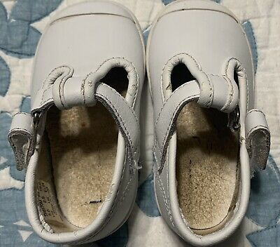 Baby Girl's KEDS White Shoes Size 3
