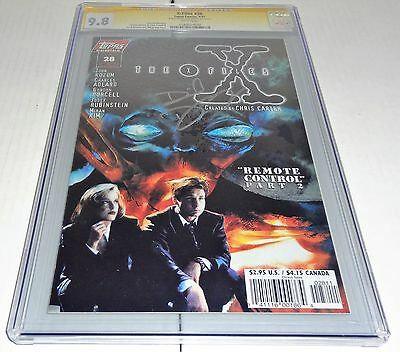 X-Files #28 CGC SS 9.8 Signature Autograph DAVID DUCHOVNY Signed Topps Comics 🔥