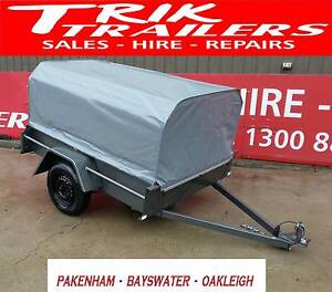 6x4 box trailer with PVC cover- great for camping Bayswater Knox Area Preview