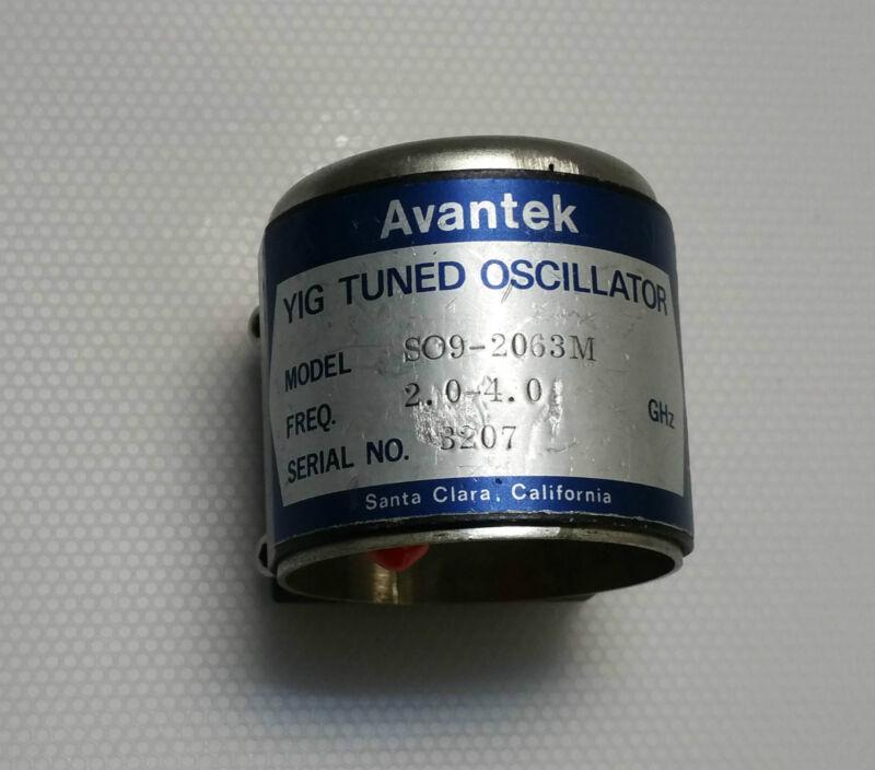 Avantek YIG Tuned Oscillator 2.0-4.0Ghz SMA