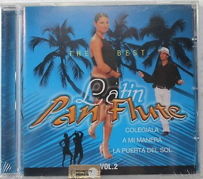 THE BEST LATIN PAN FLUTE - NUOVO