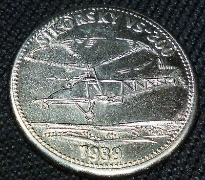 Shell Oil Company  1939 Helicopter Token