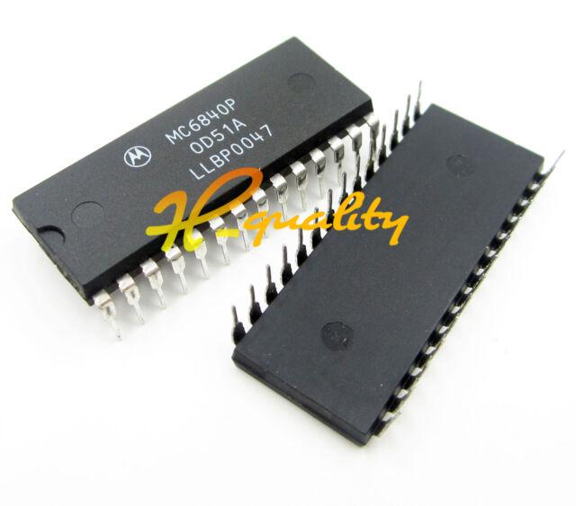 MC6840P 6840P Motorola DIP28 Programmable Timer Module IC NEW