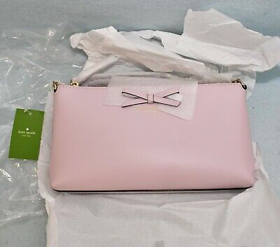 Kate Spade Declan WKRU4039 Sawyer Street Leather Crossbody Bag 💎 plumdawn