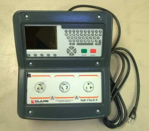 Clare Instruments Safecheck Safe Check 8 Electrical Safety Tester, New unused