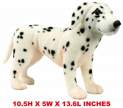 Lifelike Dalmatian Puppy Pet Plush, Realistic Simulation Stuffed Animal Toy Gift](Dalmatian Stuffed Animals)