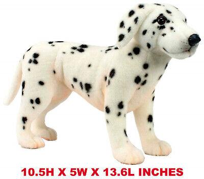 Lifelike Dalmatian Puppy Pet Plush, Realistic Simulation Stuffed Animal Toy - Dalmatian Stuffed Animals