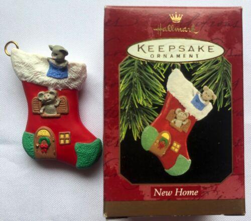 HALLMARK Keepsake Ornament NEW HOME stocking 1997