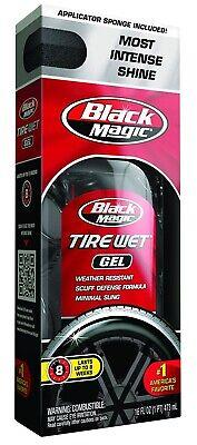 Black Magic 5072647 Tire Wet Gel, 16 Oz Black Magic Tire Gel