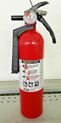 2.5lb Fire Extinguisher Abc Dry Chemical Kidde - Disposable 1a10bc