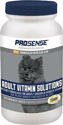 Pro-Sense Plus Adult Vitamin Solutions Chewable Dog Tablets, 90 count (Adult Plus)