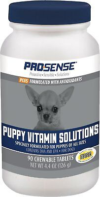 Pro-Sense Plus Puppy Vitamin Solutions Chewable Tablets, 90 count Free Shipping (Sense Solutions)