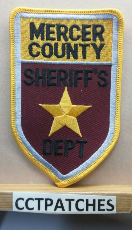MERCER COUNTY, NORTH DAKOTA SHERIFF (POLICE) SHOULDER PATCH ND