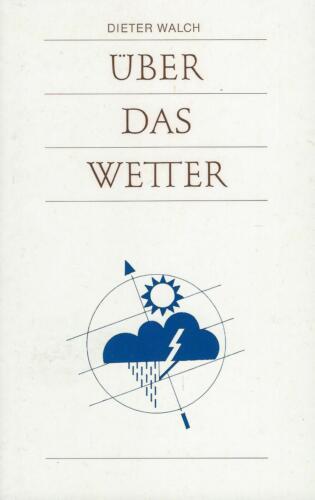 Dieter Walch: Über das Wetter **TOP**
