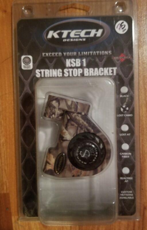 KTECH KSB 1 String Stop Bracket KSB 1-LC ~ NEW Mathews Lost Camo Bow Archery