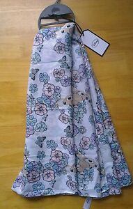Primark Disney Bambi Floral Butterfly Oversized Scarf Sarong Shawl Hijab BNWT