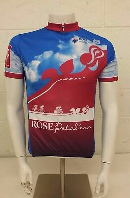 0f5e32481d2 Primal Wear Health One Rose Petal ers Cycling Bike Jersey Men s Medium GREAT