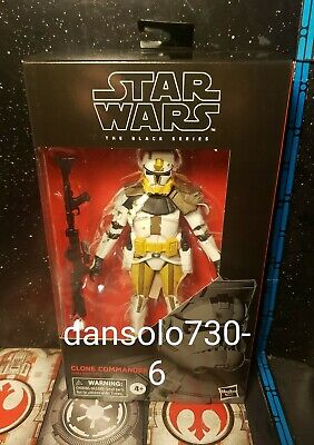 """Star Wars 6"""" Black Series CLONE COMMANDER BLY #104 **IN HAND**-"""