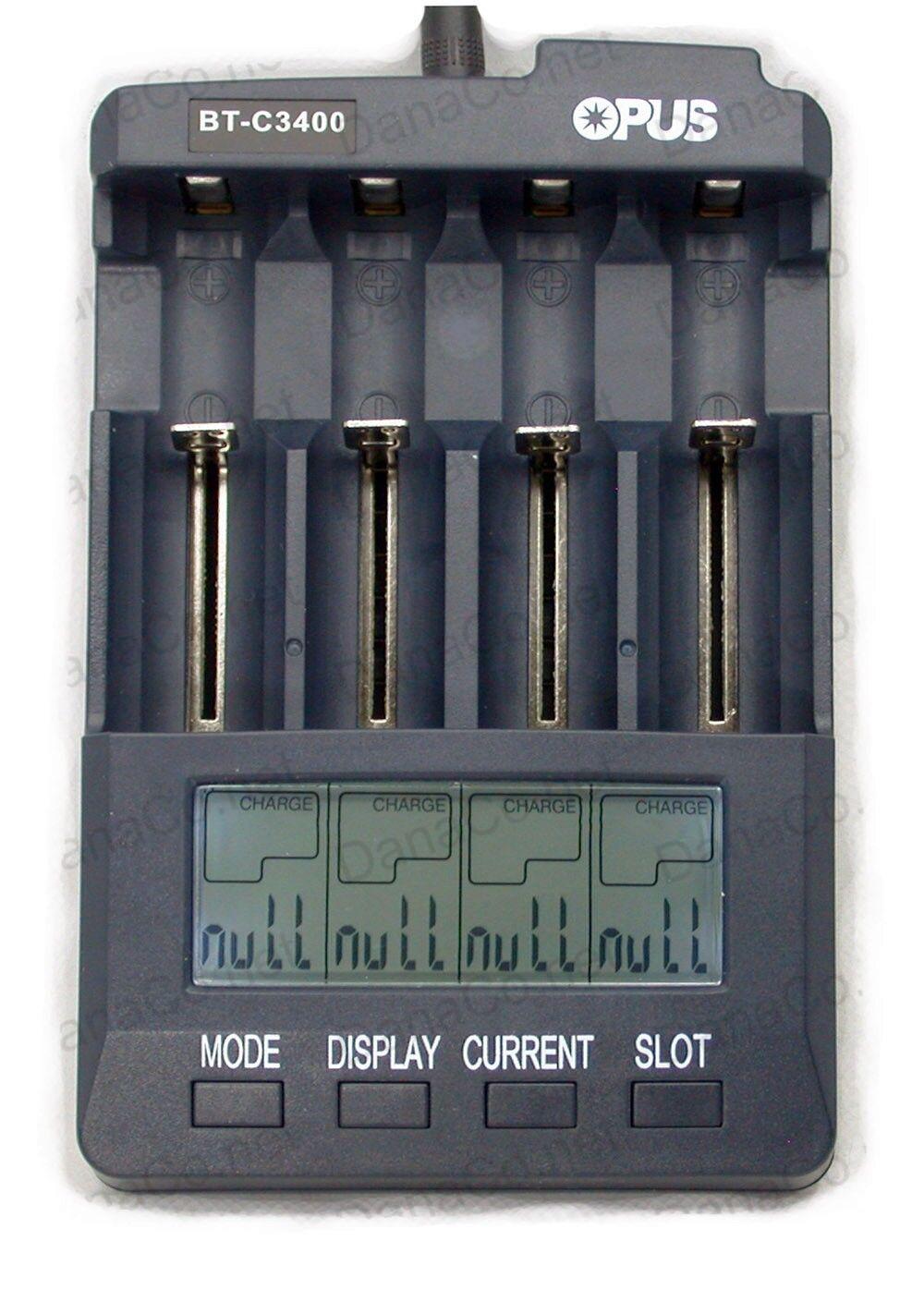 как выглядит Зарядное устройство BT-C3400 V3.1 Battery Charger Analyzer Tester Li-ion AA AAA NiMH 18650 BT-C3100 фото