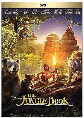 The Jungle Book  Dvd 2016  Brand New Adventure  Drama Sealed Shipping Now