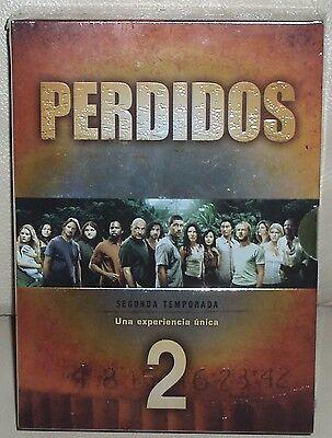 PERDIDOS - 2º TEMPORADA COMPLETA - PACK 7 DVD - NUEVO - PRECINTADO - SERIES segunda mano  Donostia