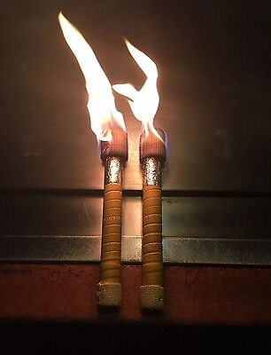 Home made Hibachi Fire Shaker (Set Of 2) with better slip-resistant wraper。