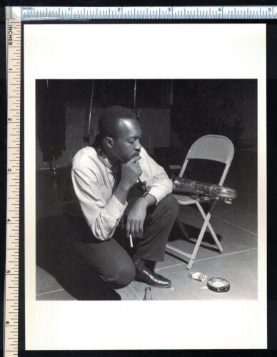 JAZZ Music Post Card HANK MOBLEY 1960 Photograph rppc photo postcard