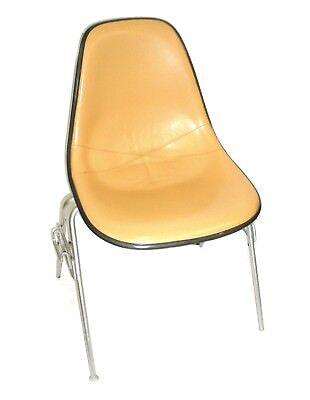 Herman Miller Leather Bucket Chair Stackable Wchair-to-chair Interlock Legs5