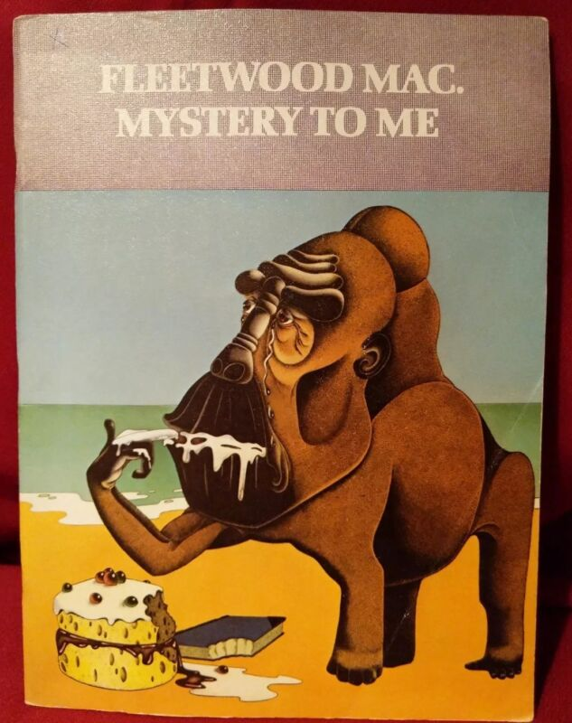 Fleetwood Mac mystery to me songbook Rare
