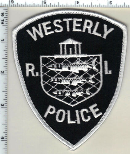 Westerly Police (Rhode Island) 2nd Issue Uniform Take-Off Shoulder Patch