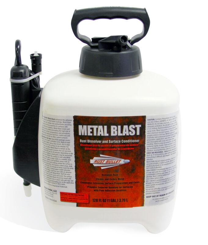Metal Blast Spray Gallon