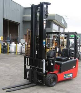 Enforcer 1800kg 3-Wheel Battery Electric Forklift Larapinta Brisbane South West Preview