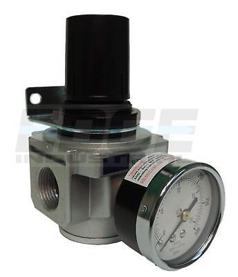 Heavy Duty Air In Line Pressure Regulator Pneumatic Air Compressors 34 Npt
