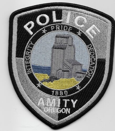 Scenic Amity Police State Oregon OR