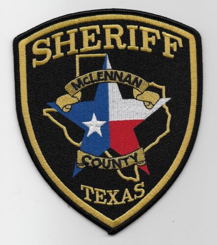 Mclennan County Sheriff State Texas TX patch NEW
